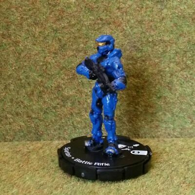 8) Halo Actionclix. 004 - BLUE SPARTAN & BATTLE RIFLE. See Purchase Options • 1.45£