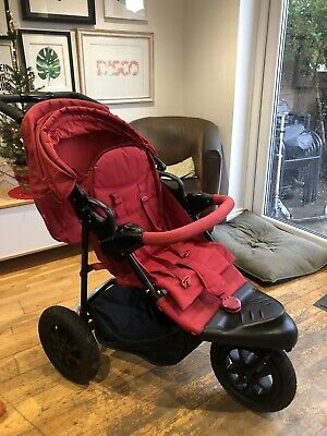 Mothercare Xtreme 3 Wheeler Buggy/Pushchair (Travel System) • 10£