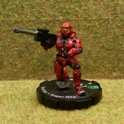 £2.45 • Buy 8) Halo Actionclix. 047 - RED SPARTAN & SNIPER RIFLE. See Purchase Options