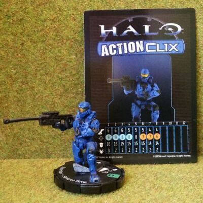 £2.45 • Buy 8) Halo Actionclix. 048 - BLUE SPARTAN & SNIPER RIFLE
