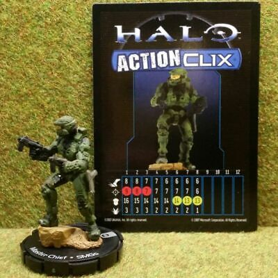 8) Halo Actionclix. 050 - MASTER CHIEF & SMGs • 3.45£