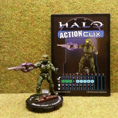 8) Halo Actionclix. 057 - MASTER CHIEF & COVENANT CARBINE • 3.45£