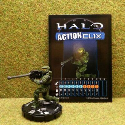 8) Halo Actionclix. 058 - MASTER CHIEF & SNIPER RIFLE • 4.95£