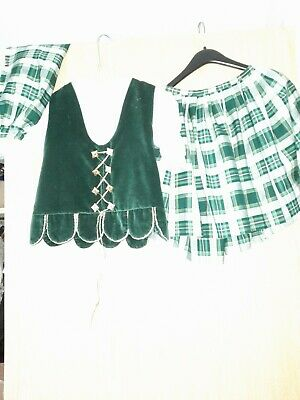 Girl Highland Dancing Flora Outfit  • 60£