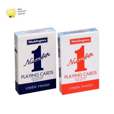 Waddingtons Playing Cards Red & Blue Value Pack, 007146 • 3.95£