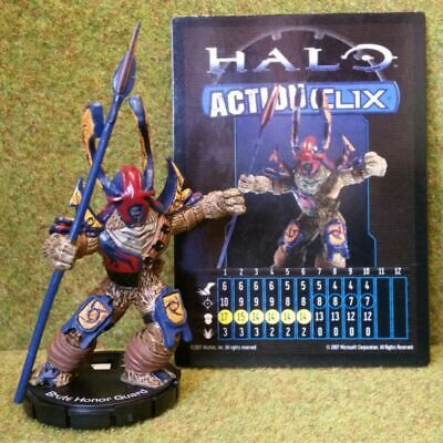 8) Halo Actionclix. 074 - BRUTE HONOR GUARD • 8.95£