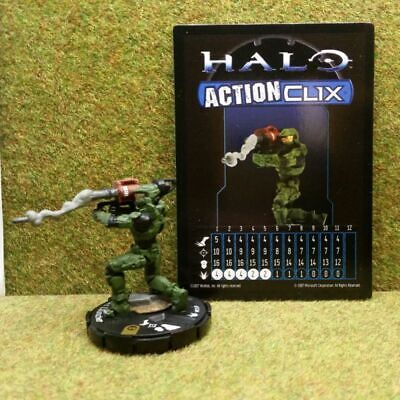 8) Halo Actionclix. 084 - MASTER CHIEF & ROCKET LAUNCHER • 7.95£