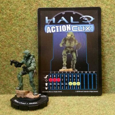 8) Halo Actionclix. AC #1-6 - MASTER CHIEF & SMGs • 3.45£