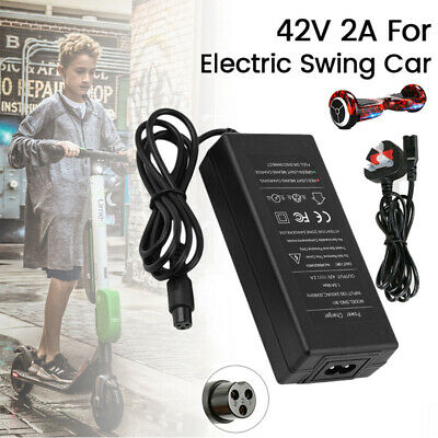 $ CDN9.68 • Buy 42V 2A UK Plug Charger Power Adapter For Segway/Hoverboard Balance Board