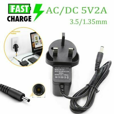AU7.10 • Buy Universal DC 5V 2A Power Supply Adapter 100-240 AC Charger UK Plug 3.5/1.35mm