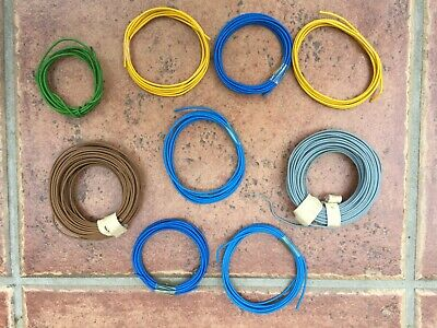 Job Lot Of Model Railway Layout Electrical Wire. Various Types • 8£