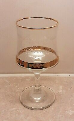 Lovely Charles And Diana Wedding Commemorative Glass - 16cm Tall • 4.50£