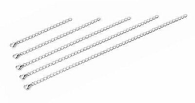 £3.39 • Buy Silver Plated Necklace Bracelet Extender Extension Chain  2  3  4  5 UK SALE!!