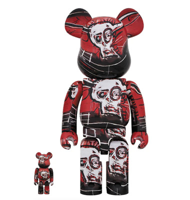 $299.99 • Buy JEAN-MICHEL BASQUIAT 400% 100% #5 Bearbrick Be@rbrick Medicom 2020 Rare Limited