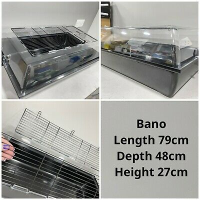 Bano Large Plastic Tank Style Cage • 37£