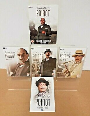 POIROT COMPLETE COLLECTION - All 11 Series On DVD - 28 Disc Box Set • 34.95£