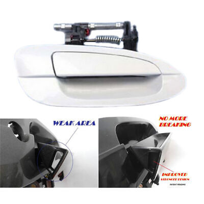 $21.42 • Buy For 2002-2006 NISSAN ALTIMA B3948 Front R Outside Door Handle QX3 Pearl White