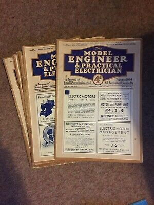 £19.99 • Buy The Model Engineer & Practical Electrician Magazine - 1931, Vol. 64 - 12 Issues