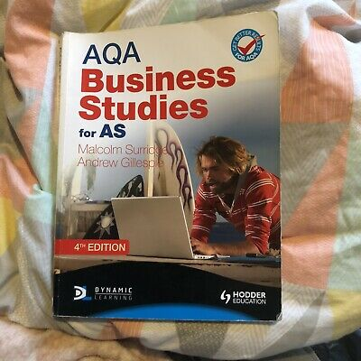 AQA Business Studies For AS - 4th Edition • 1.10£