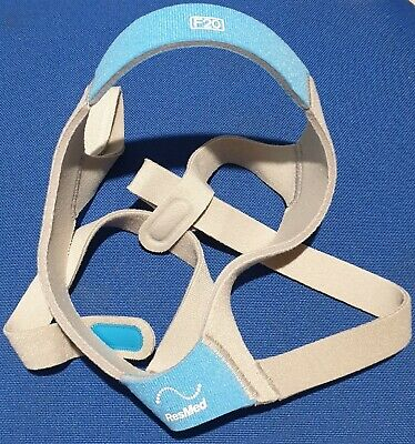 AU64 • Buy Headgear / Strap Size Std Him / Her For Resmed AirFit F20 Fullface CPAP Mask New
