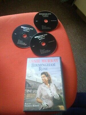 Birmingham Rose By Annie Murray - 3 Disc Audio Book CD  Francis Barber Reads Ex • 4.75£