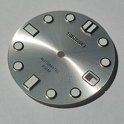 $ CDN60.48 • Buy MM300 Dial For Seiko SKX007, MARINEMASTER 300, Fits NH35, C3Lume, Silver Color