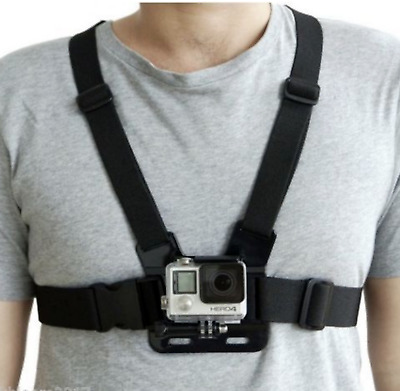 AU17.55 • Buy Chest Strap For GoPro Hero 6 5 4 3+ 3 2 1 Action Camera Harness Mount Black AU