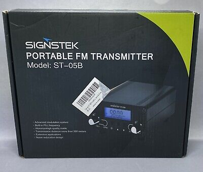 $94.99 • Buy 0.5W 76MHz~108MHz FM Transmitter Stereo Broadcast Station For Drive-in Church