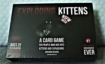 AU22.72 • Buy Exploding Kittens A Card Game NSFW Deck