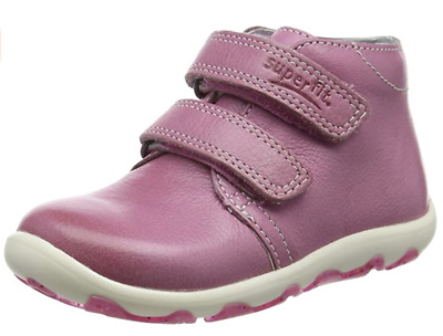 £38.99 • Buy Superfit Laurie Infant Girls UK 7.5 & 8 Pink Leather Touch Close Hi Top Trainers