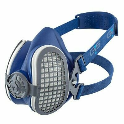 GVS Elipse SPR299 P3 Reusable Half Mask Small With Filters Made In The UK • 19.99£