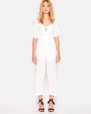 AU120 • Buy Alice Mccall Harlow Jumpsuit Size 6 (WHITE)