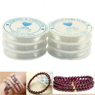 £2.60 • Buy Elastic Stretchy Beading Thread Cord Bracelet String For Jewelry Making 0.4- 1.0