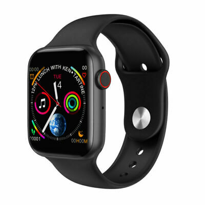 $ CDN28.73 • Buy W34 ECG Heart Rate Monitor Smart Watch Fitness Tracker For IOS Android