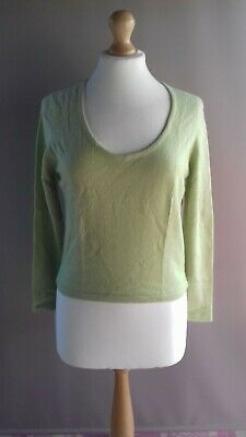 N Peal Green 100% Cashmere Jumper Size M  • 75£