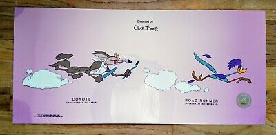Chuck Jones Wile E Coyote & Road Runner Animation Art Sericel Limited Cell Cel  • 161.30£