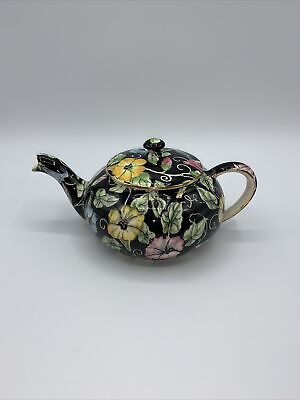 "$ CDN72.79 • Buy Royal Winton Grimwades ""Morning Glory"" Mini Teapot England"
