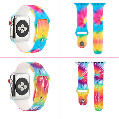 AU14.99 • Buy 40mm/44mm Silicone Apple Watch Band Strap IWatch Series SE 6 5 4 3 2 1  38/42mm