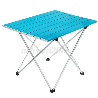 AU31.99 • Buy AU Roll Up Table Folding Portable Camping Picnic Garden BBQ Party