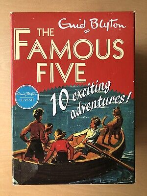 £14.99 • Buy Famous Five Classic Collection 10 Book Set By Blyton, Enid Book Good Condition