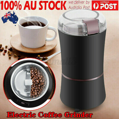 AU24.10 • Buy AU 400W Electric Coffee Mill Grinder Beans Spices Herb Nuts Grinding Machi