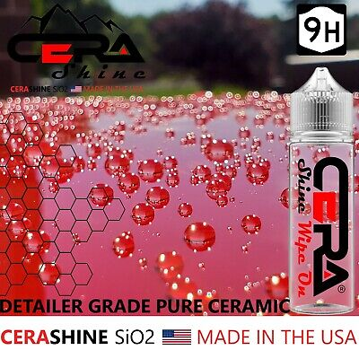 $19.95 • Buy Ceramic Car Coating Serum Shield 9h Pro Grade Shine Nano Armor Water Beader Diy