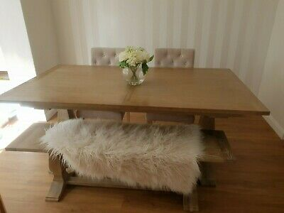 £500 • Buy Next Dinning Table ,bench And X2 Chairs