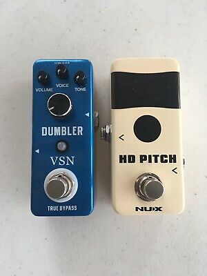 $ CDN93.99 • Buy Nux HD Pitch Tuner + VSN Dumbler Overdrive Mini Guitar Effect Pedal Lot Of 2