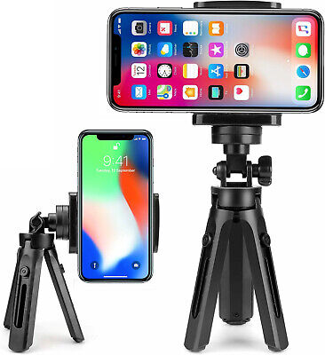 Universal Mini Mobile Phone Holder Tripod Stand Grip For IPhone & Samsung Camera • 6.74£
