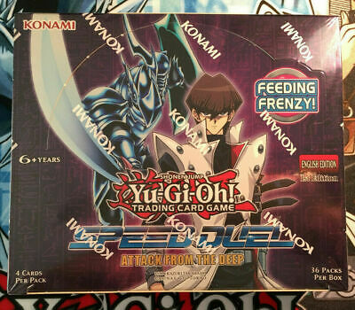 YuGiOh! Speed Duels: Attack From The Deep Booster Box - 36 Packs - NEW Sealed! • 34.95£