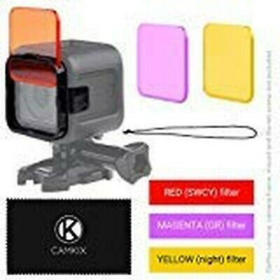 $ CDN45.11 • Buy CamKix Diving Lens Filter Kit Compatible With GoPro Hero 5 And Hero 4 Session...