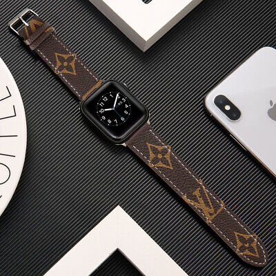 AU27.52 • Buy 40mm Genuine Leather Apple Watch Band For Series SE 6 5 4 3 2 1 Strap 44mm 42mm