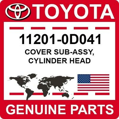 $128.38 • Buy 11201-0D041 Toyota OEM Genuine COVER SUB-ASSY, CYLINDER HEAD