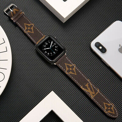 AU21.99 • Buy Genuine Leather Apple Watch Band For Series SE 6 5 4 3 2 1  Strap 40mm 42mm 44mm